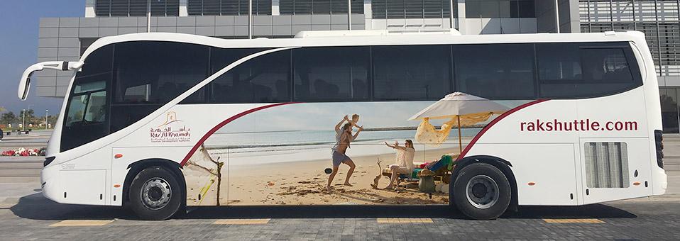 RAK-Bus-Shuttle – vom und zum Flughafen Dubai