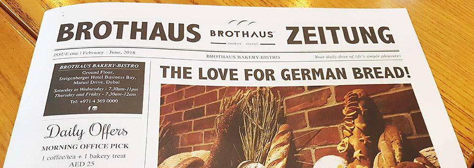 Neues Menu – German Style