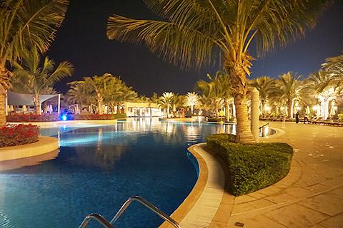 Pool- und Garten-Area