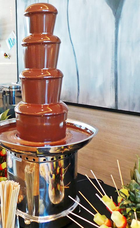 Schokoladenfontäne