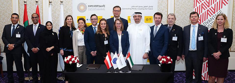 Österreich unterschreibt Vertrag für Expo 2020