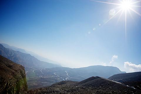 Die Berge von RAK