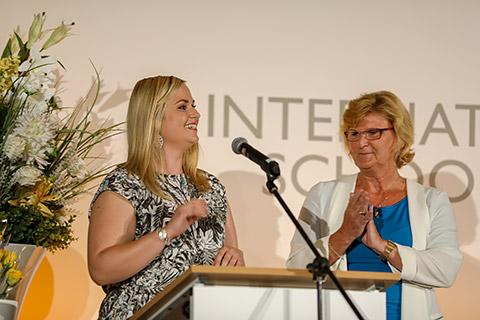 Carolin Schemenau und Andrea Schöne