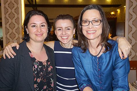 Daniela, Anna und Kerstin