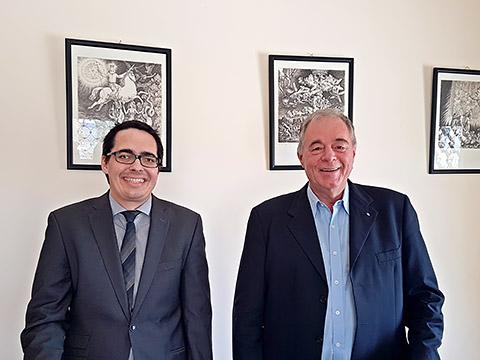 Thomas Meier und Dr. Theo Strohal
