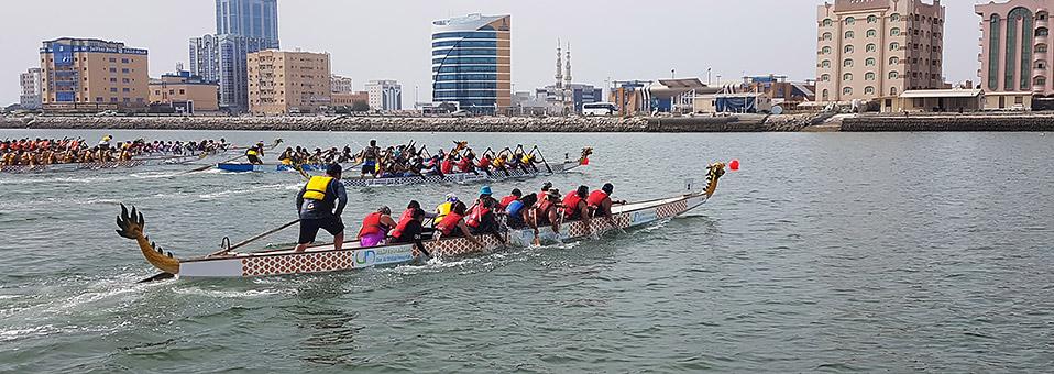 Drachenboot-Festival im Hilton Garden Inn