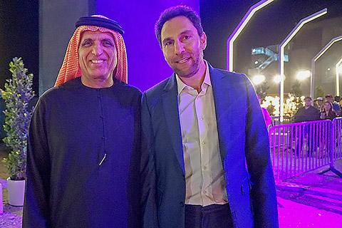 HH Sheikh Saud mit Haitham Mattar