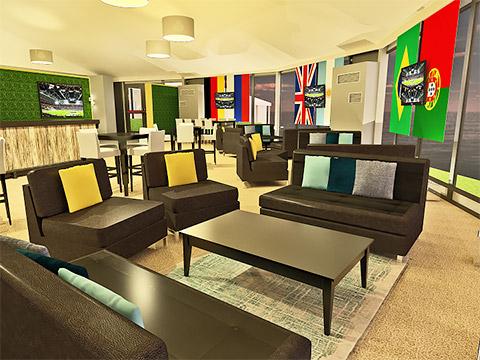 Sports Lounge Sofas