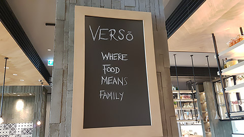 Where food means family