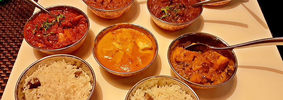 Curry-Nacht im Al Hamra Golf Club