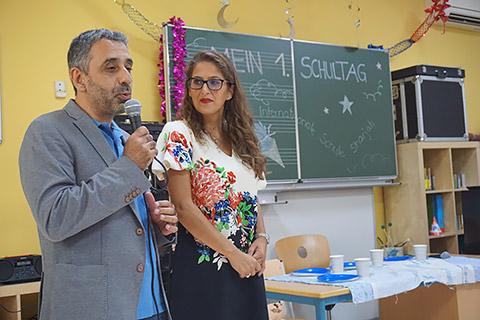 Haitham Mansour und Patricia Reisyan