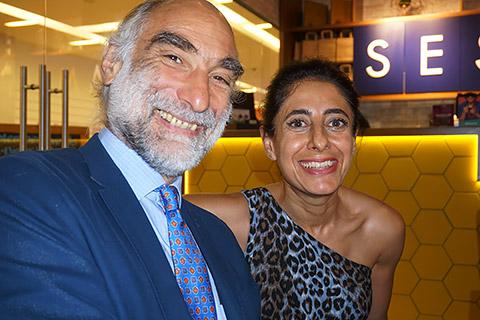 Irina mit Dr. Harald