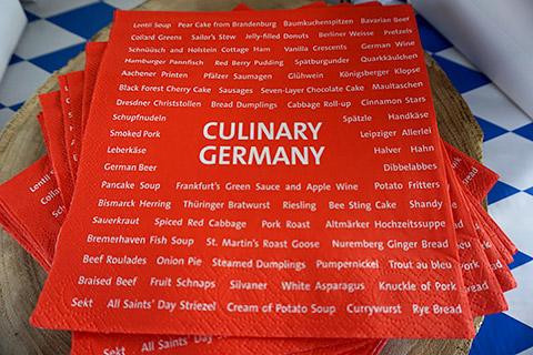 Kulinarisches Deutschland