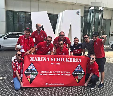 Marina Schickeria auf Tour