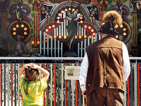 Orgel auf der Dult