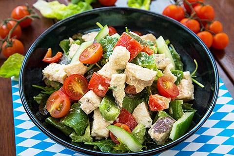 Salat à la Chef