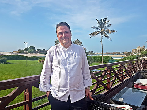 Thorsten im Hilton Al Hamra