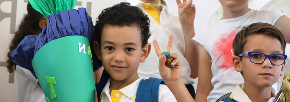 Herzklopfen und Freude am ersten Schultag