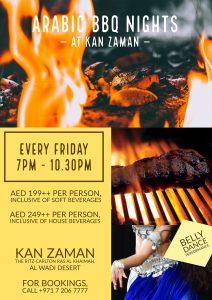 Arabic BBQ Nights