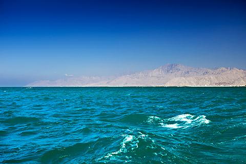 Küste von RAK