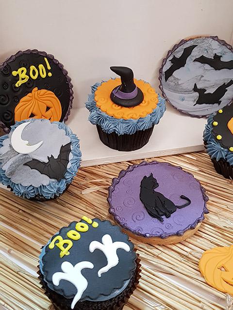 Kekse und Cupcakes