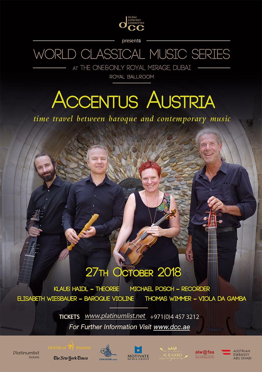Konzert mit Accentus Austria
