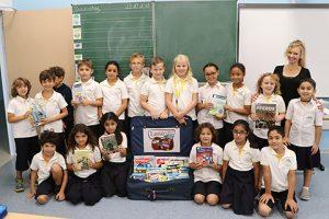 Lesekoffer an der Grundschule