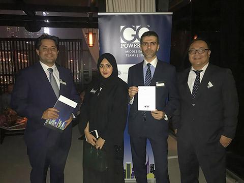 Moulham Al Chawa mit Team