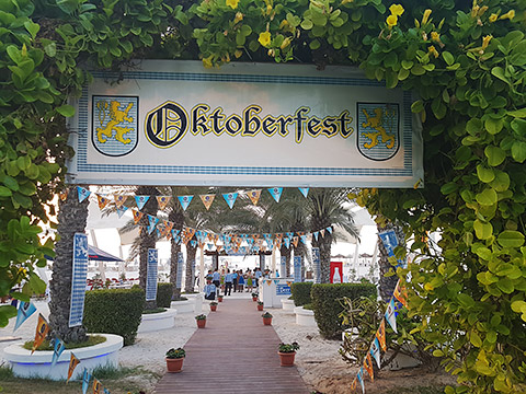 Oktoberfest am Strand