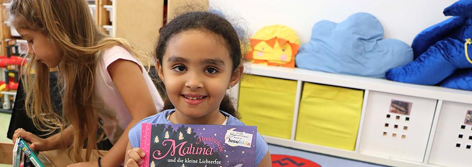 Lesekoffer an der Deutschen Internationalen Schule Dubai