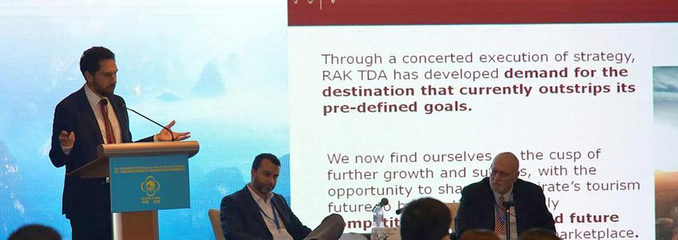 RAKTDA auf dem 12. UNWTO-PATA Forum in China