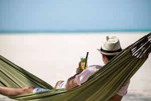 Entspannung am Beach
