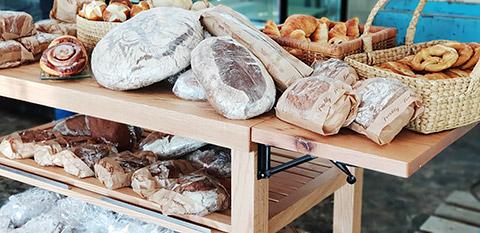 Frische Bäckereiwaren