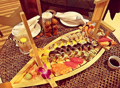 Sushi-Boot