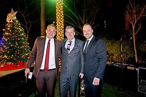 Felix, Karsten und Henri