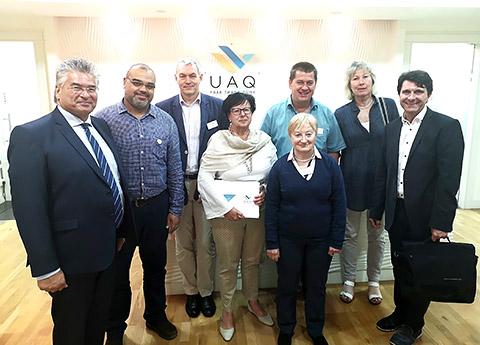 Unternehmer in der UAQ-Freezone