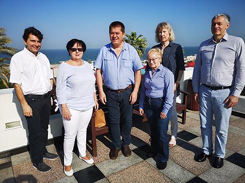 Unternehmergruppe mit Ursula Rimmele-Konzelmann