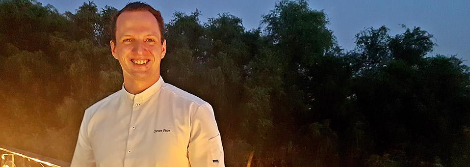 Steven Peter – Chef in der Wüste und am Beach