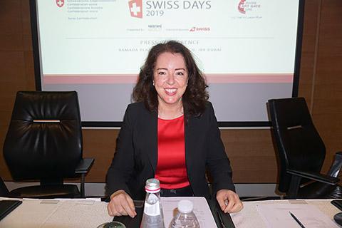 Botschafterin Maya Tissafi