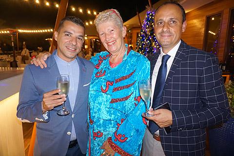 Cris, Uschi und Emanuele