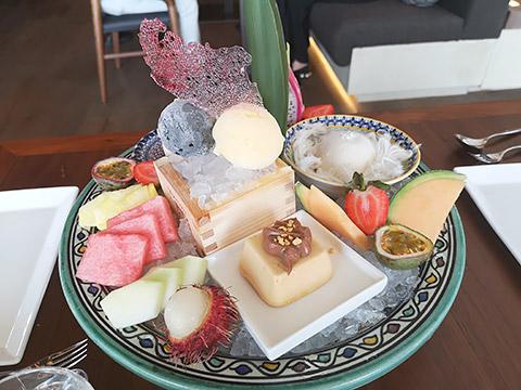 Dessert-Platte