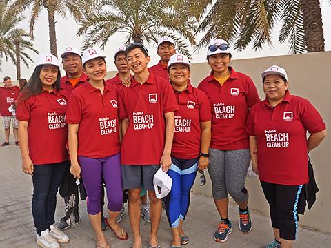 Rina Gauer mit Team