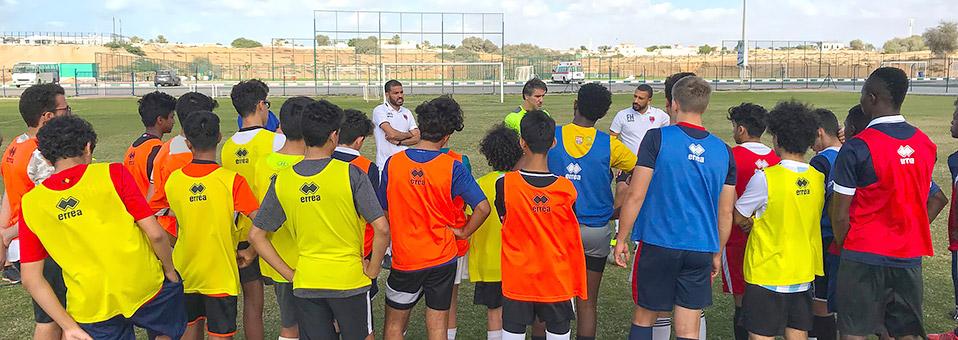 Trainings-Camp mit Juventus-Trainern in Ras Al Khaimah