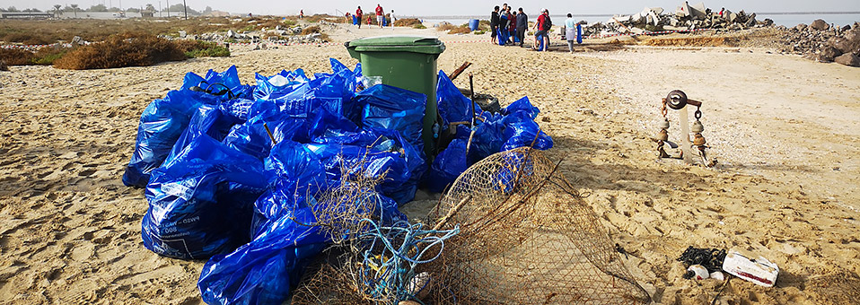Clean the Beach in Ras Al Khaimah
