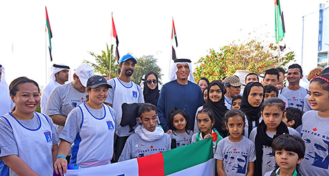 Foto mit HH Sheikh Saud