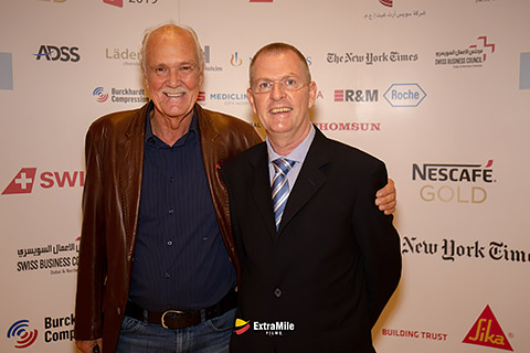 Kurt Blum mit Peter Harradine
