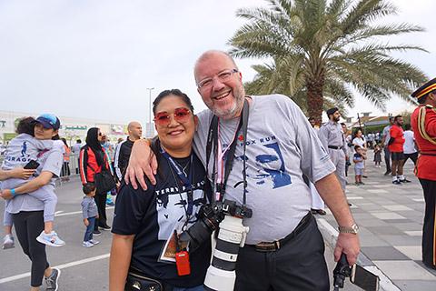 Rina und Dr. Jean-Marc Gauer