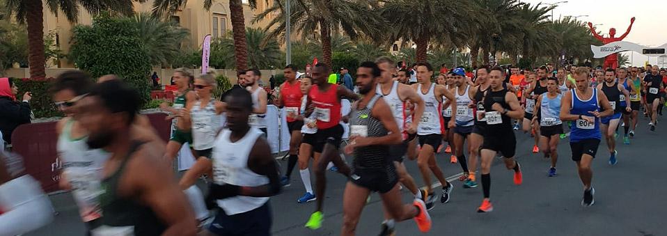 Erfolgreicher Abschluss des Ras Al Khaimah Halbmarathons 2019