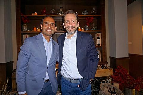 Amit Arora und Christian Ress