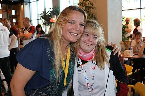 Jessica mit Laura